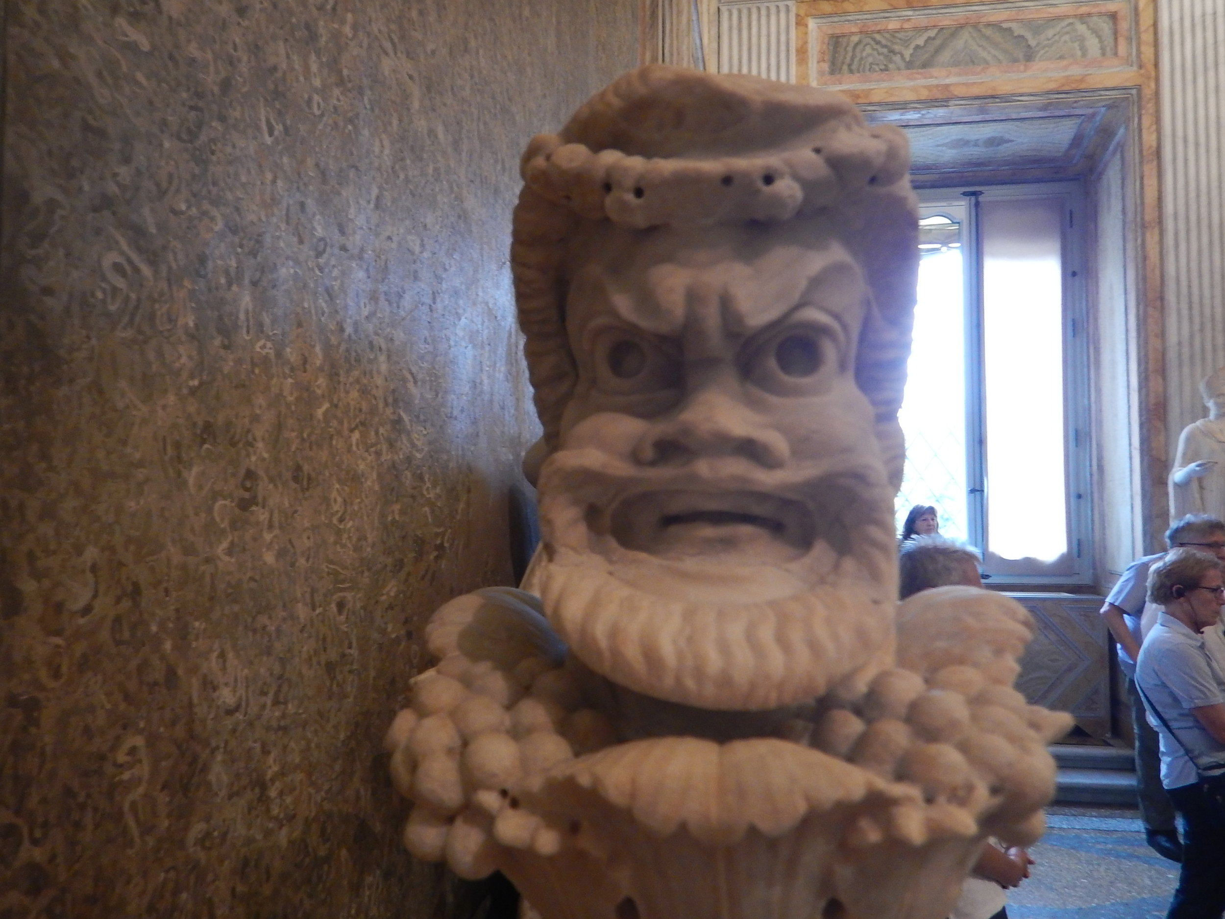 my bodyguard while in Rome!
