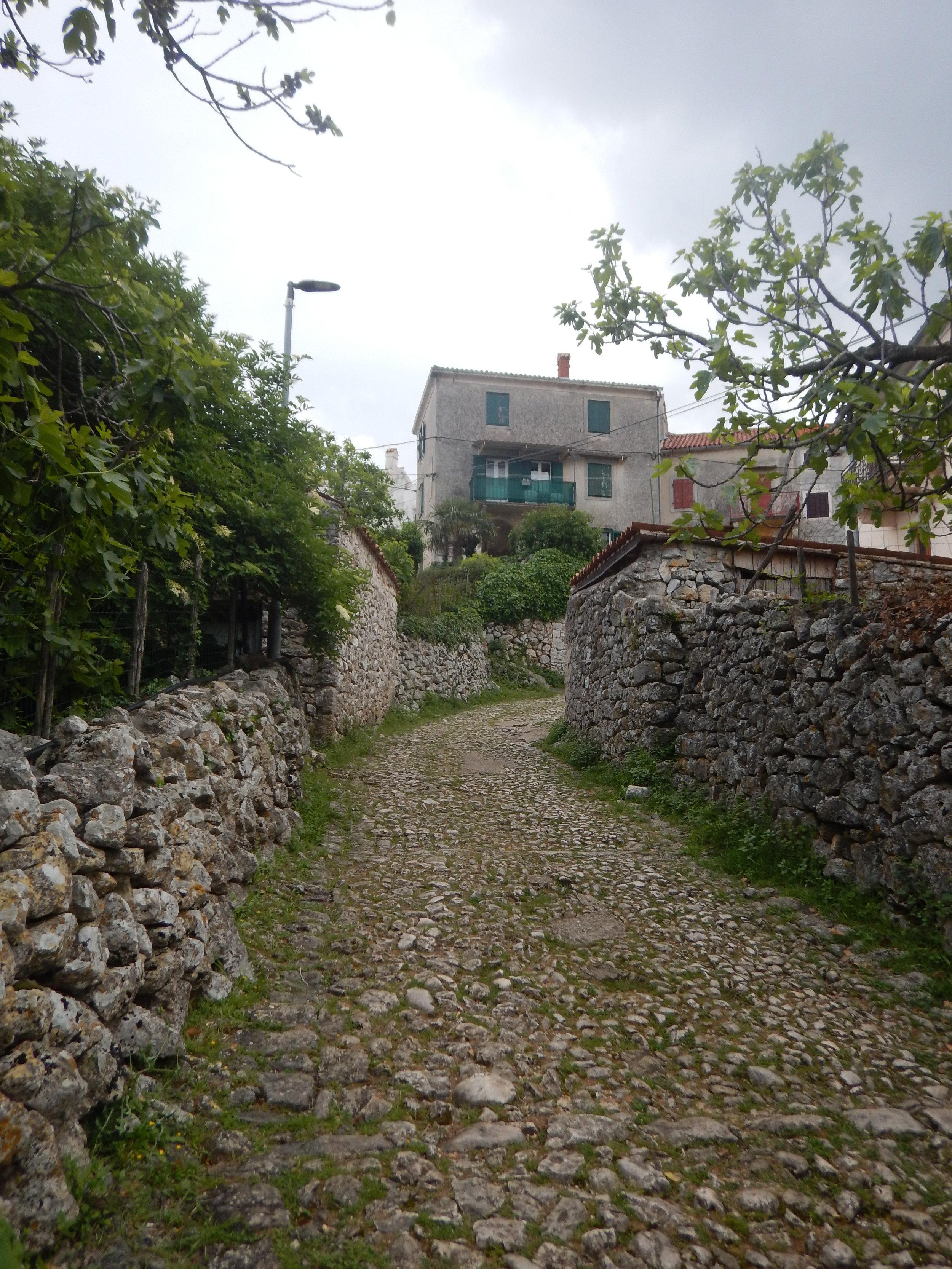 Entrance to delightful village of Beli