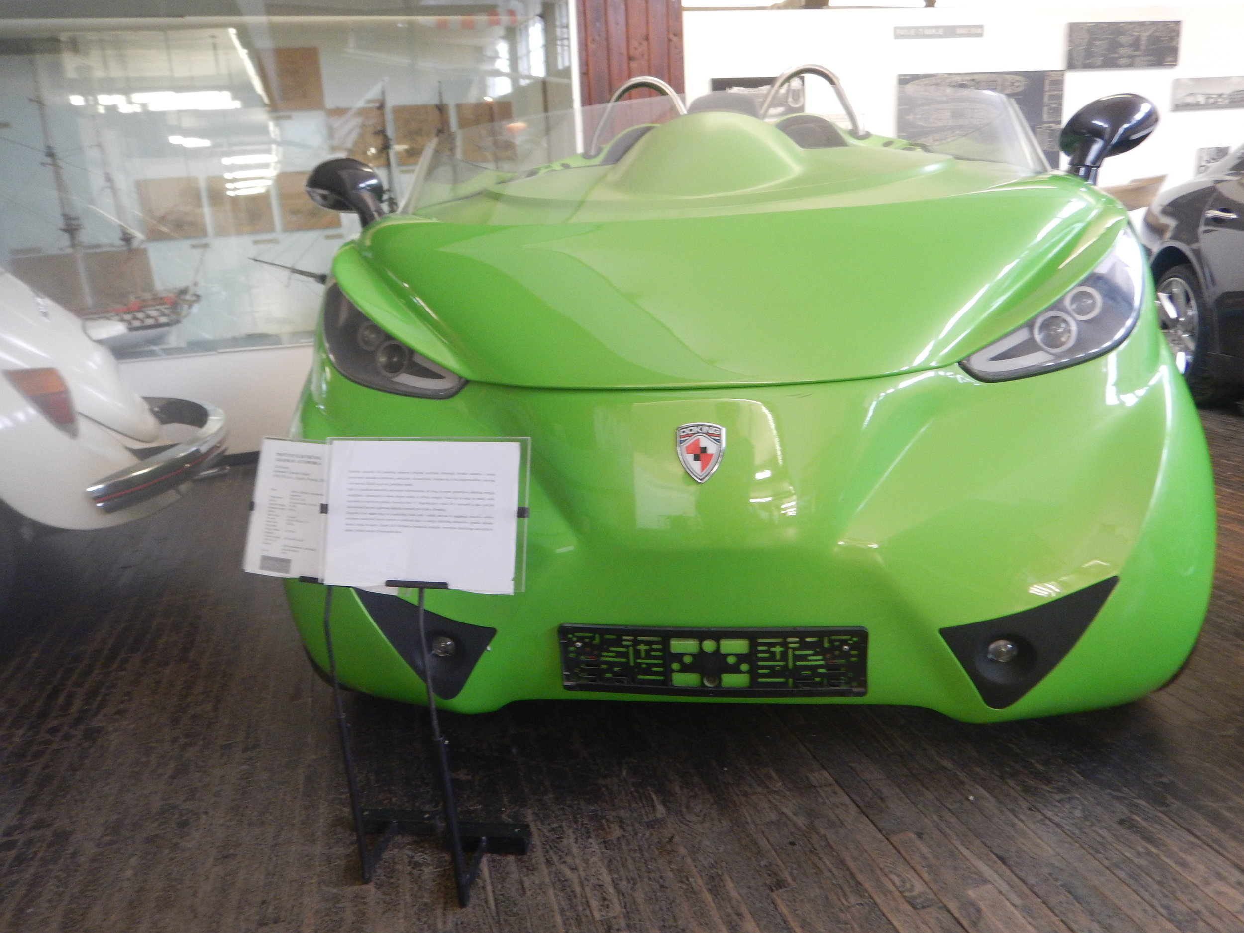 Croatias first green car. PS. It's electric