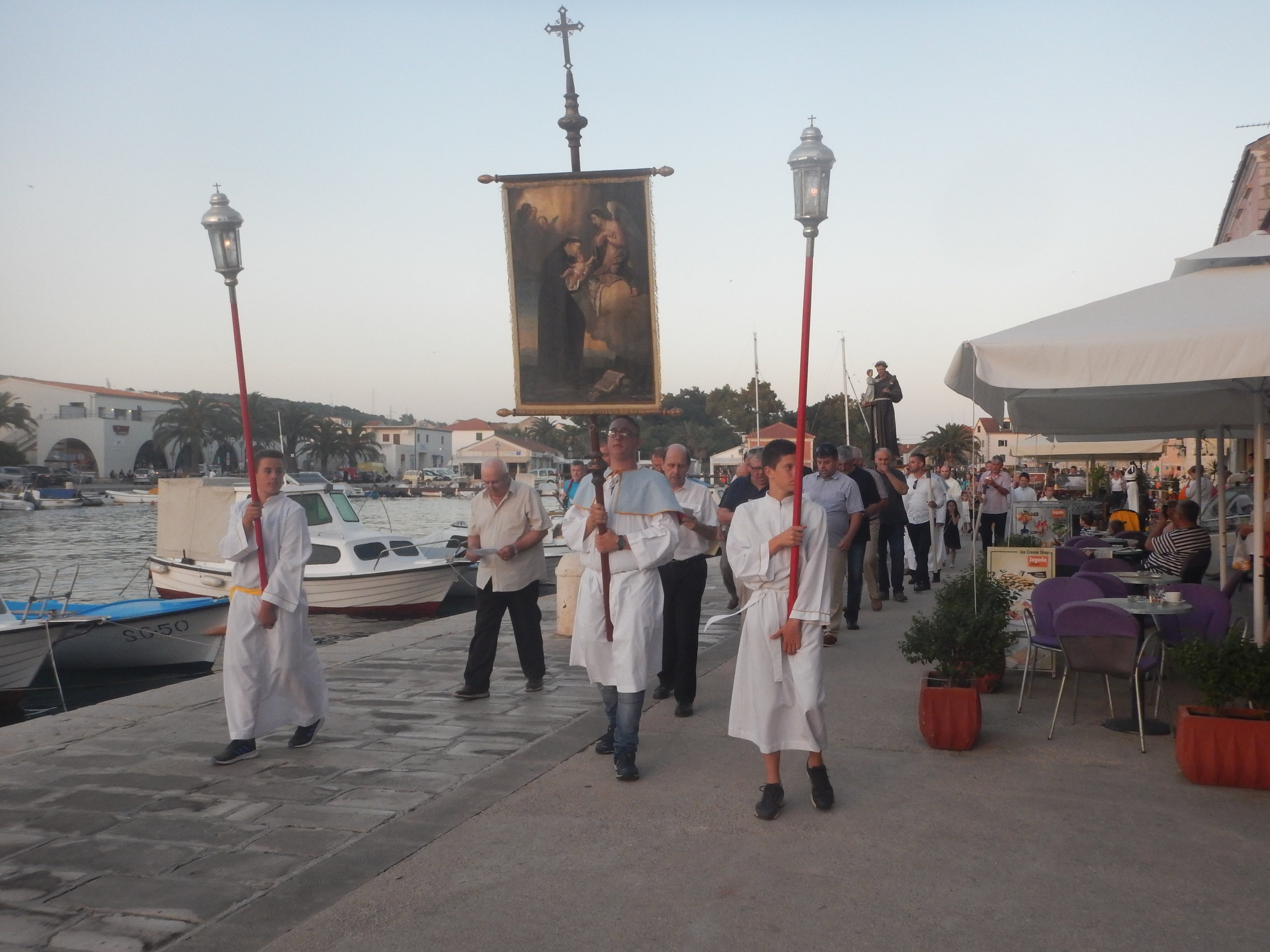 There are always processions for Saints Days or local history anniversaries.