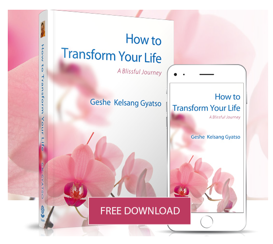 Download How to Transform Your Life offered for free as a gift to the world by Geshe Kelsang Gyatso