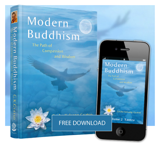 Download Modern Buddhism offered for free as a gift to the world by Geshe Kelsang Gyatso