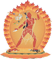 The extensive self-generation practice of Vajrayogini, the female Buddha who is the manifestation of the wisdom of all Buddhas