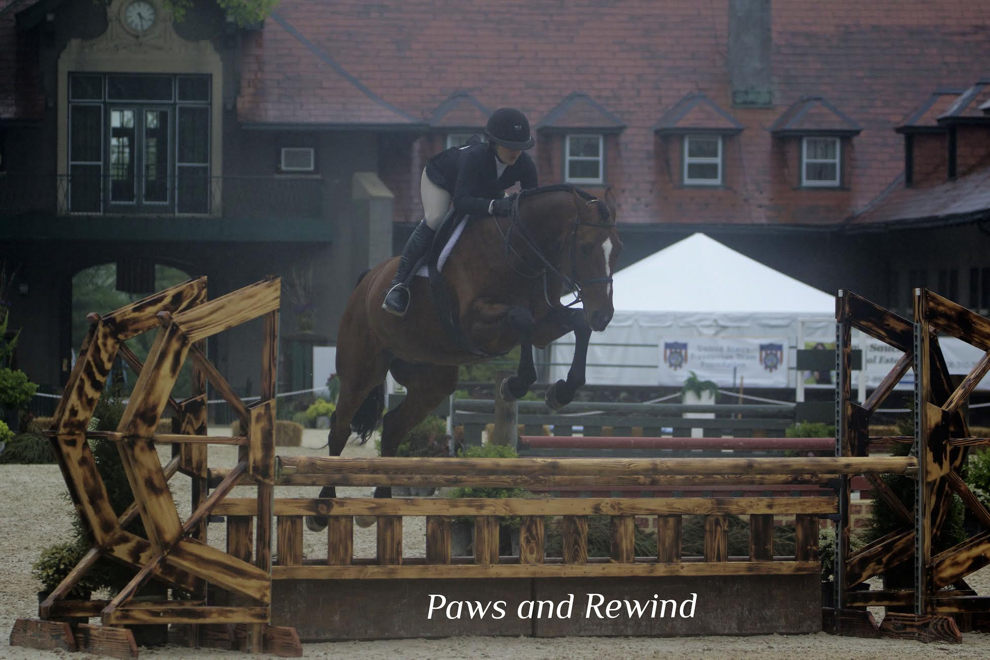 Morgan Munz and Louis. Photo by Paws and Rewind