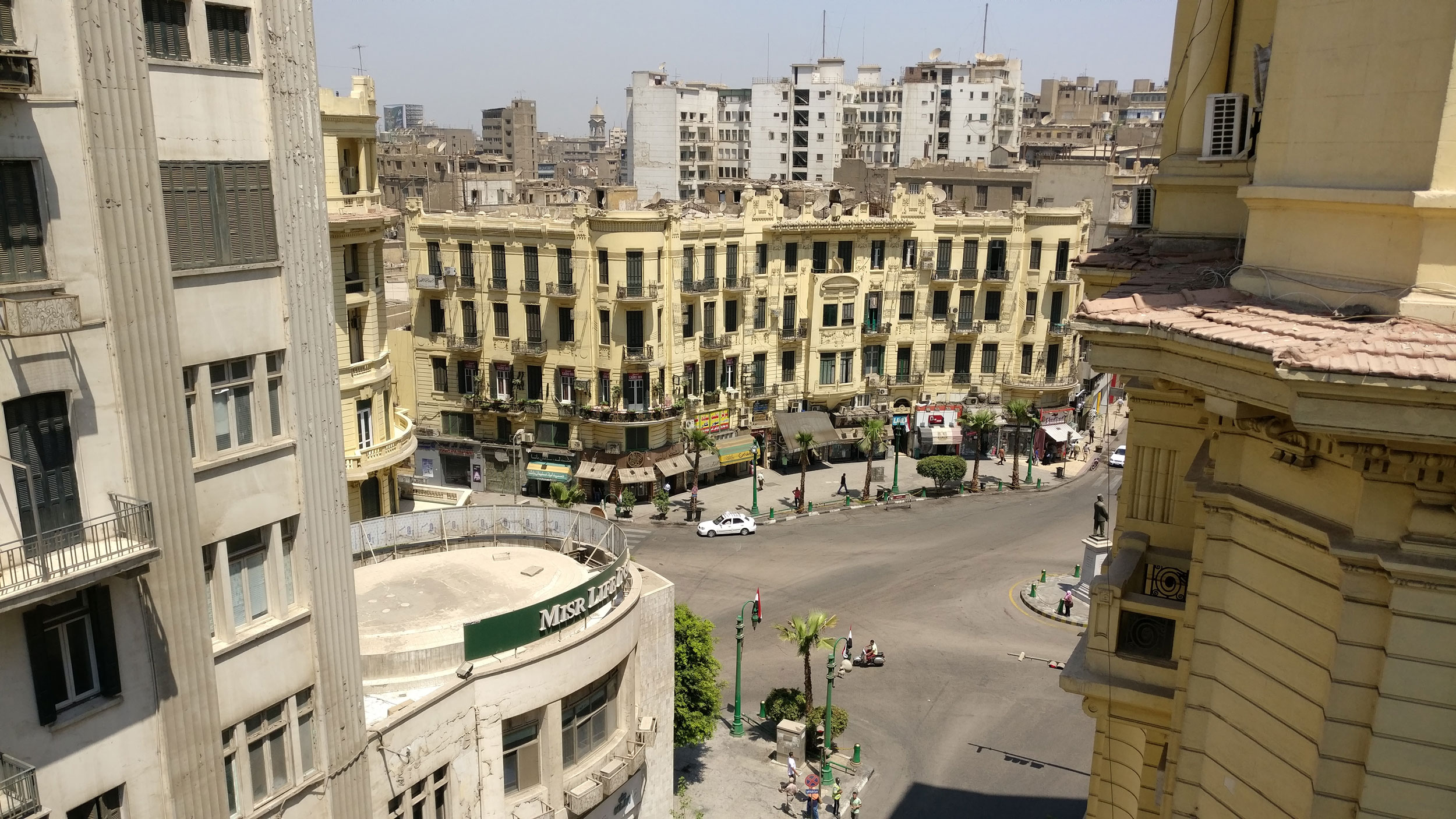 Talaat Harb Square, Downtown Cairo, Egypt