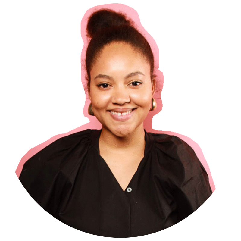 Maeva Heim - In addition to co-hosting LADY-LAND, she works full-time in social media marketing, and is also developing a tech enabled beauty brand that has a focus on ethical supply chain management and cultural diversity in the beauty industry.