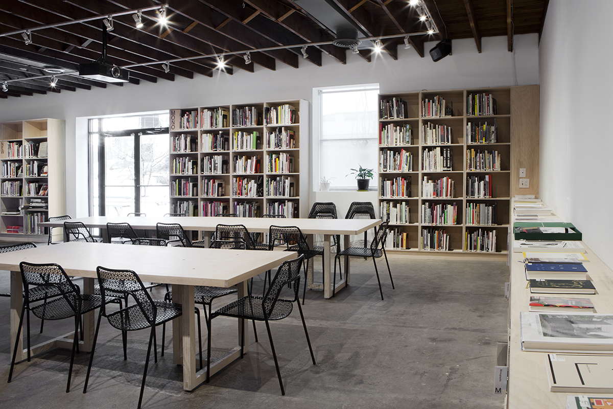 Midway Contemporary Arts Library (Intern 2018)