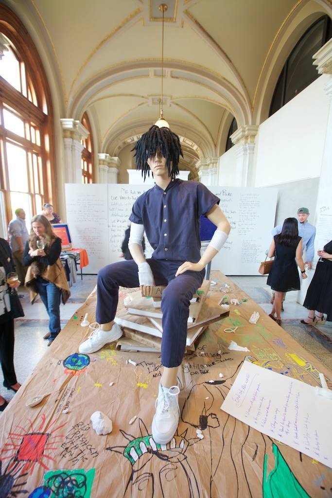 ArtForceIowa Exhibition  #KNOW JUSTICE  (Curator & Installation 2016)