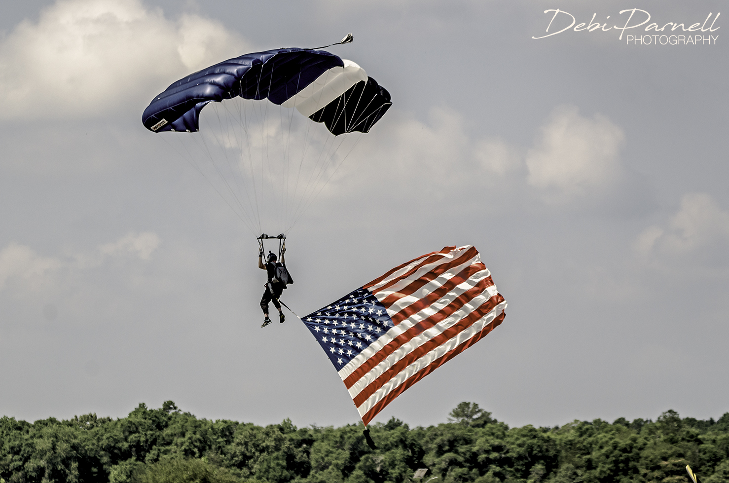 Sky Diver Presents the Colors