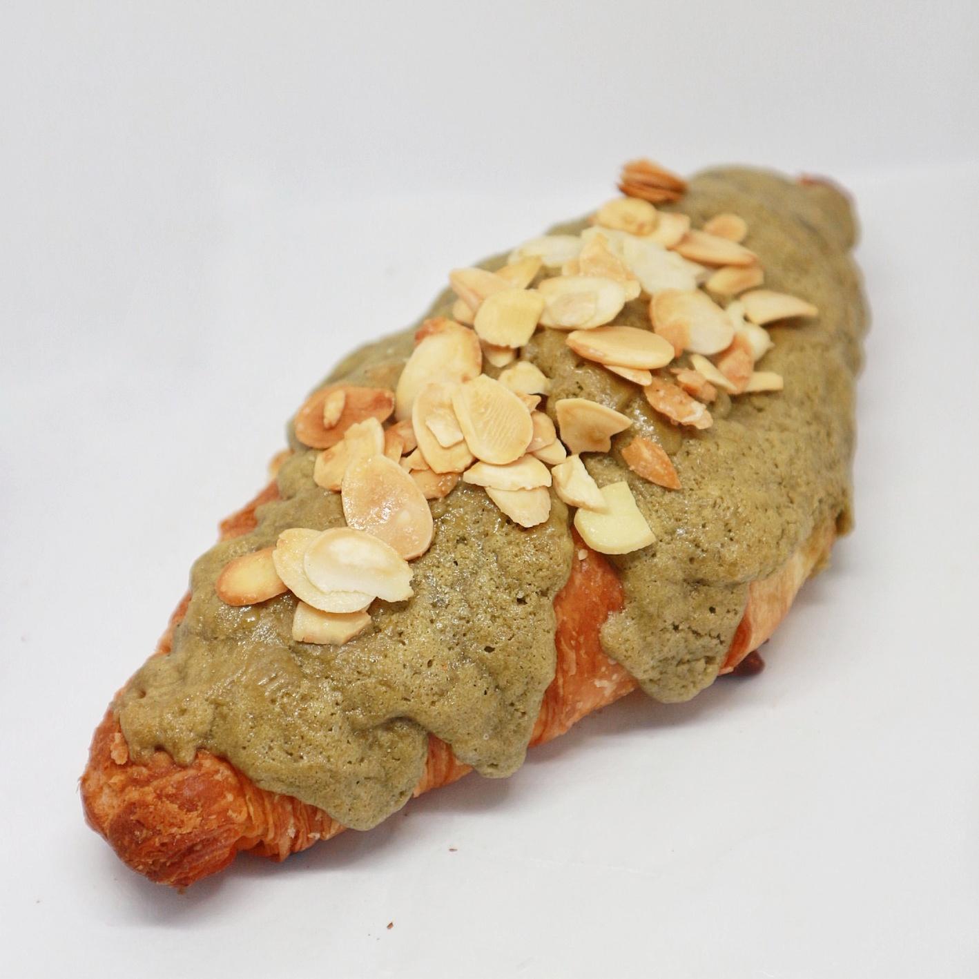 Matcha Almond Croissant - Rp. 20.000,-