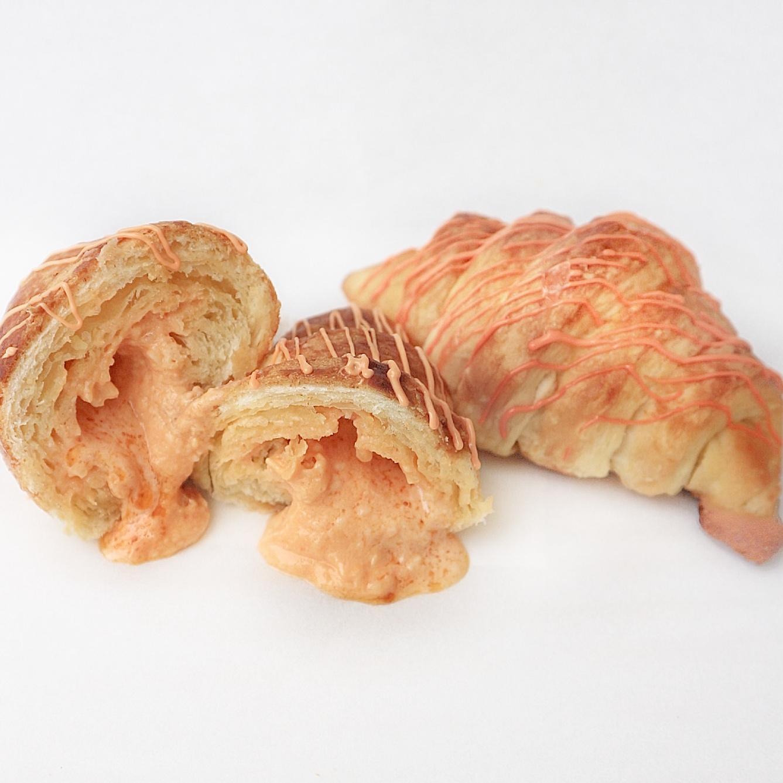 Salted Egg Croissant - Rp. 21.000,-