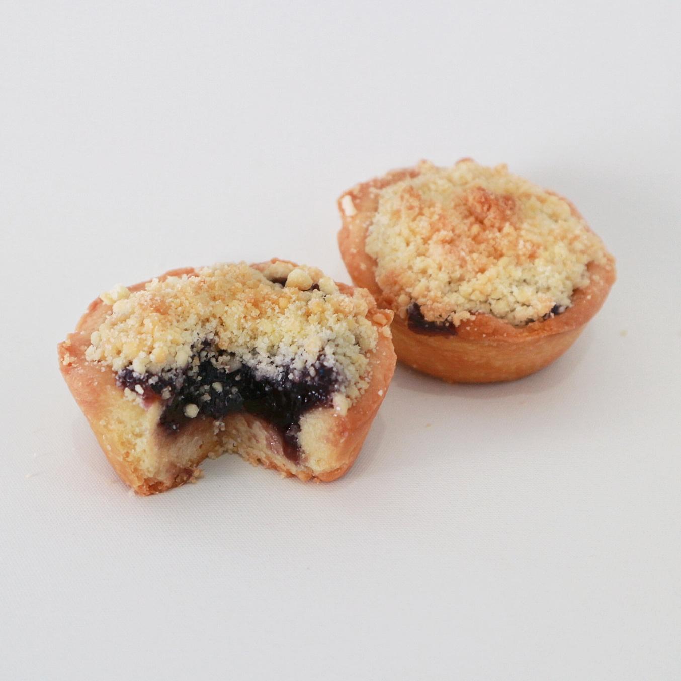 Mini Blueberry Crumble - Rp. 83.000,- / 12pcs