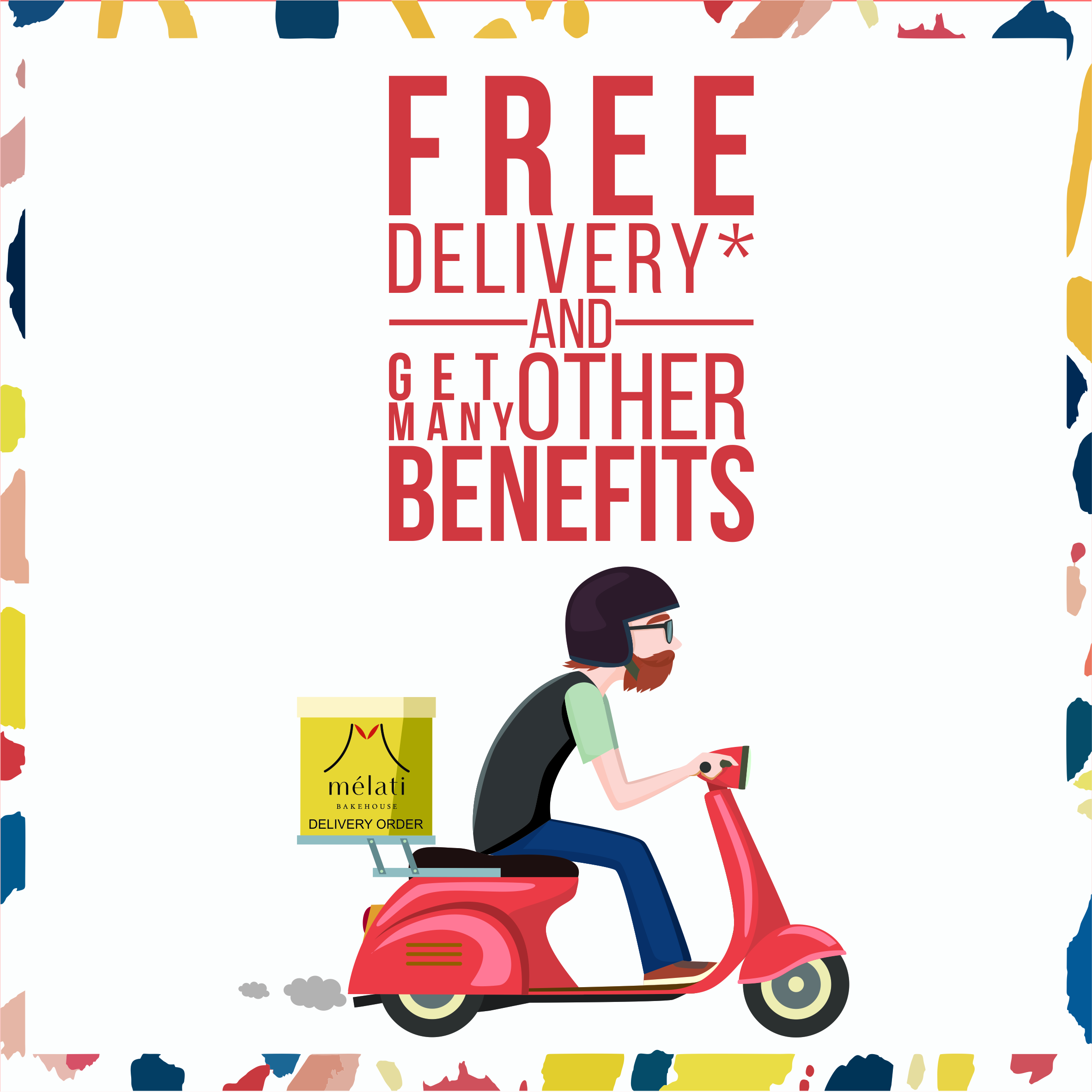- SUpply OnlyDo you have a Coffee Shop, Cafe, or Restaurant currently seeking for bread and pastry supplier ?If so, look no further from us ! As Melati Bakehouse's wholesale customer, you will gain some of the many benefits below :- FREE Delivery- Competitive B2B (Business to Business) Prices- DISCOUNT up to 12% !- Minimum order are only 15 pieces and you can mix the flavours !So what are you waiting for ? Register in the form below and let us help you expand your menu !