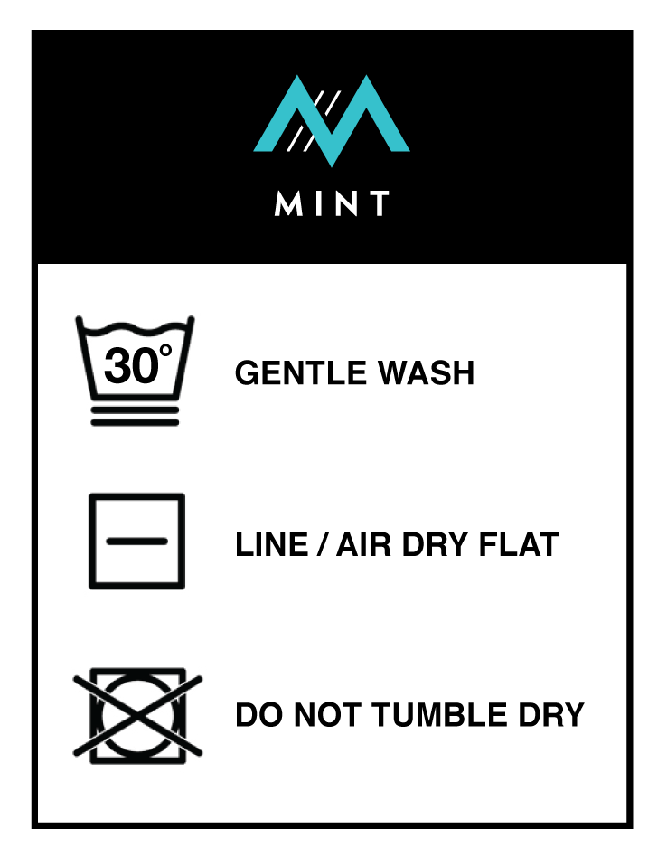 Caring for your socks- gentle wash, line dry, do not tumble dry