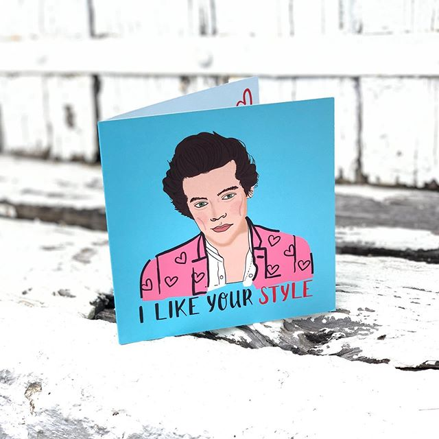 Do we have any Harry Styles' fans?! 😍  New cards in store!  #chartersflowers #florist #charterstowers #getoutbacktocharterstowers #lalalandcards