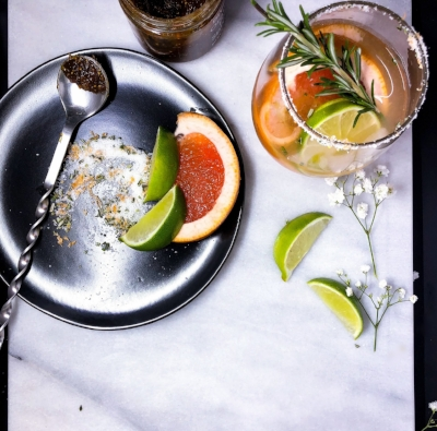 Fig Paloma Cocktail