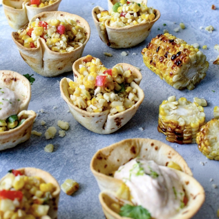 Mexican Street Corn Elotes Cups