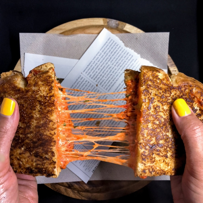 Tandoor Masala Spiced Grilled Cheese