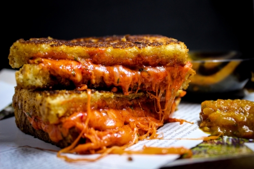 Tandoori Masala Spiced Grilled Cheese