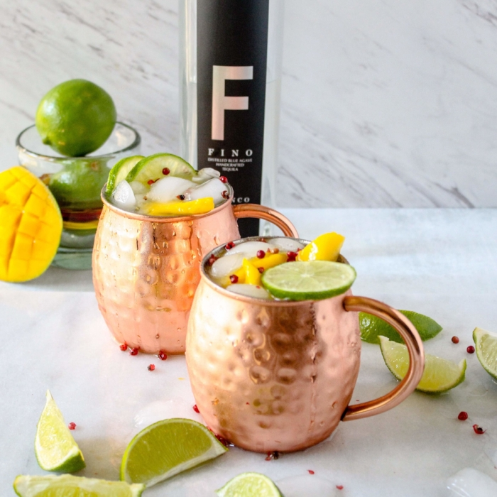 Moscow Mule with Tequila