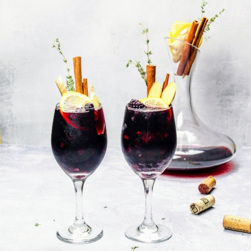 Ginger and Berry Sangria