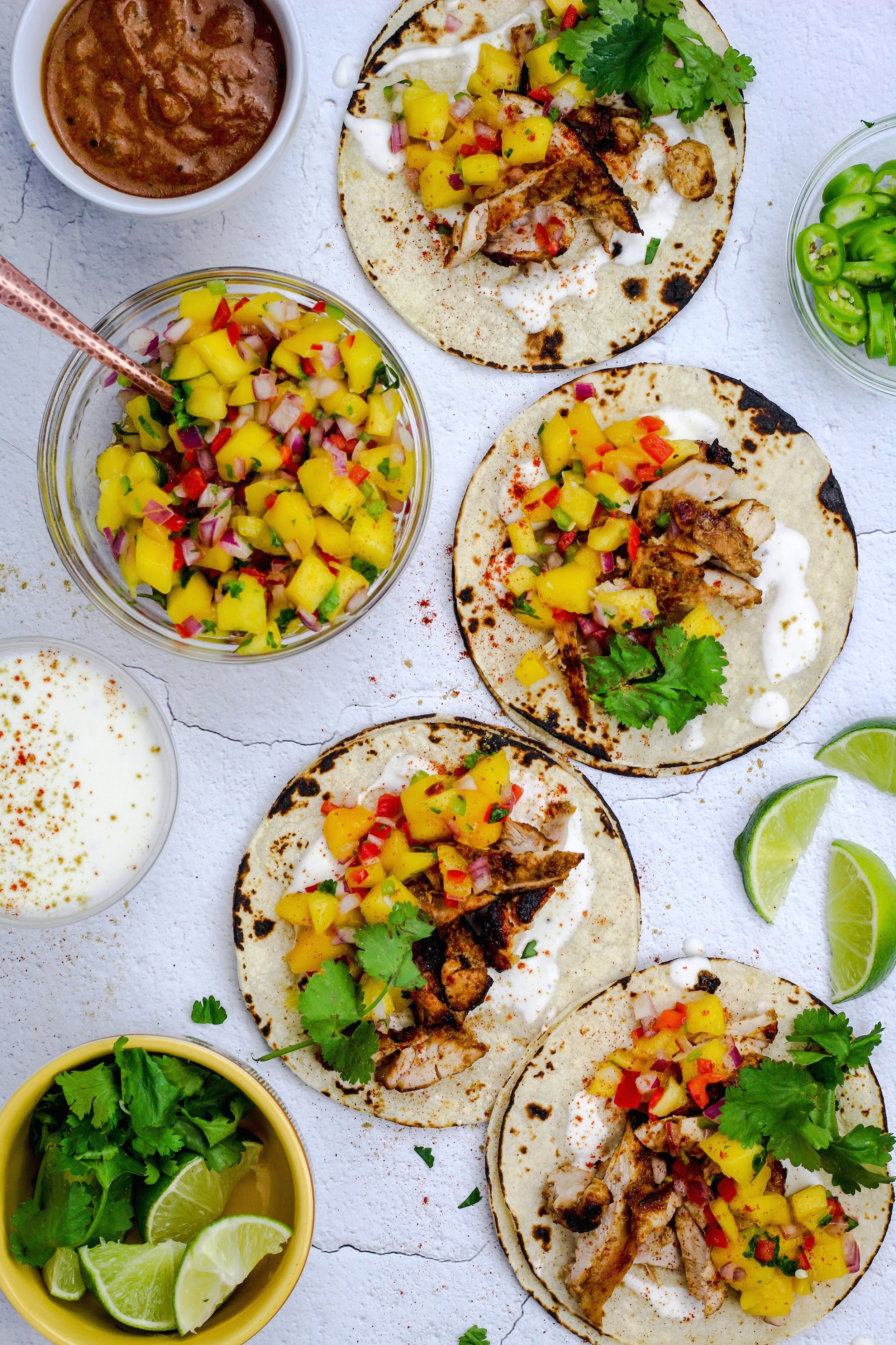 Coconut+Curry+Chicken+with+Mango+Salsa