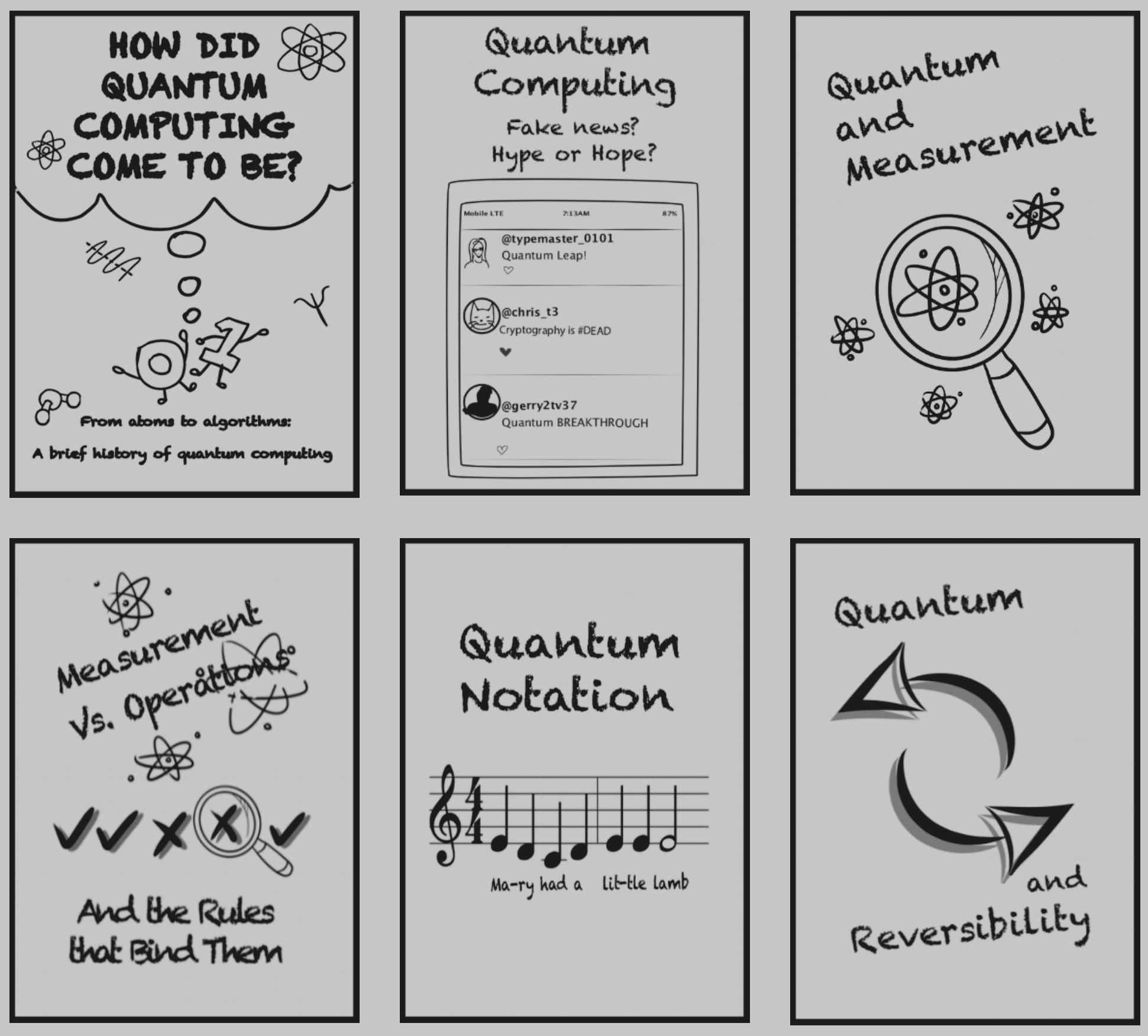 EPiQC Zines Explain Quantum Computing    Read More