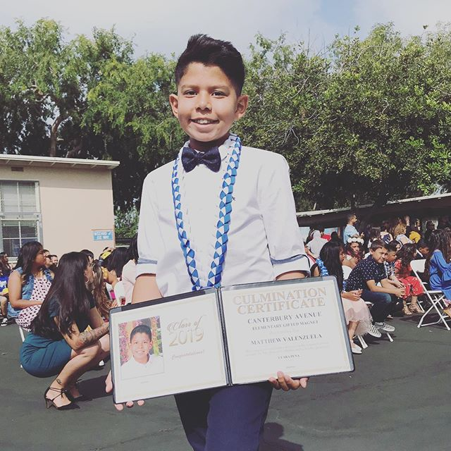 Proud Father! My boy @matthew_teamvalenzuela1  You did great and I'm so proud of you! #classof2019  Wardrobe was a process but at the end we got it 👌🏼😁 #prouddad #myboy #schoolboy