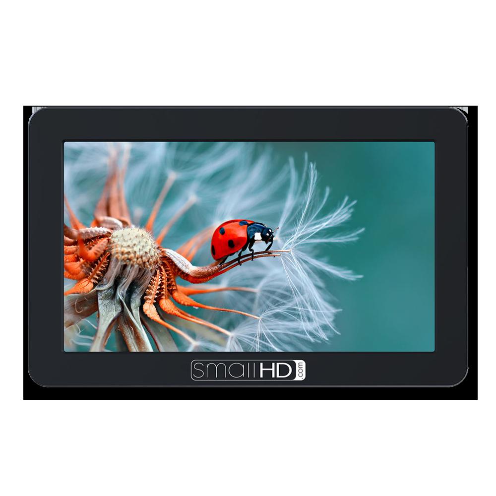 "SmallHD Focus 5"" Monitor  -  Amazon   Super bright monitor. Tilt arm is fantastic. Focus peaking/waveform are must-haves."