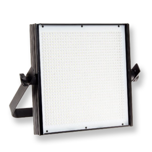 Flolight 1x1 LED Panel  -  Amazon   I use the LED800. Fantastic and relatively cheap 1x1 panel. Has a dial for spot/flood.