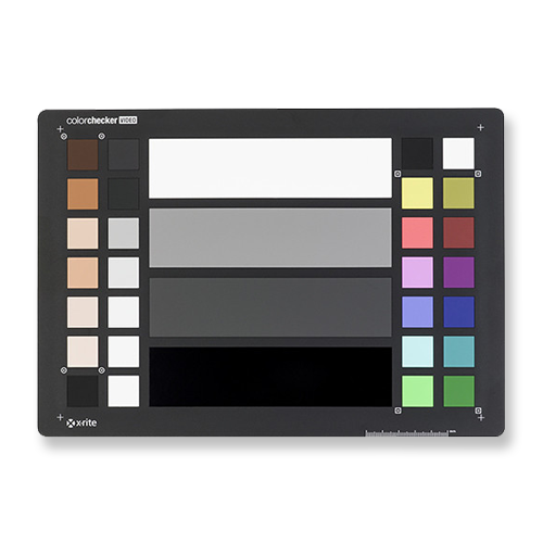 X-Rite ColorChecker Video  -  Amazon   Use this to get the most accurate color either on-set or in post. Has a gray card on the back.