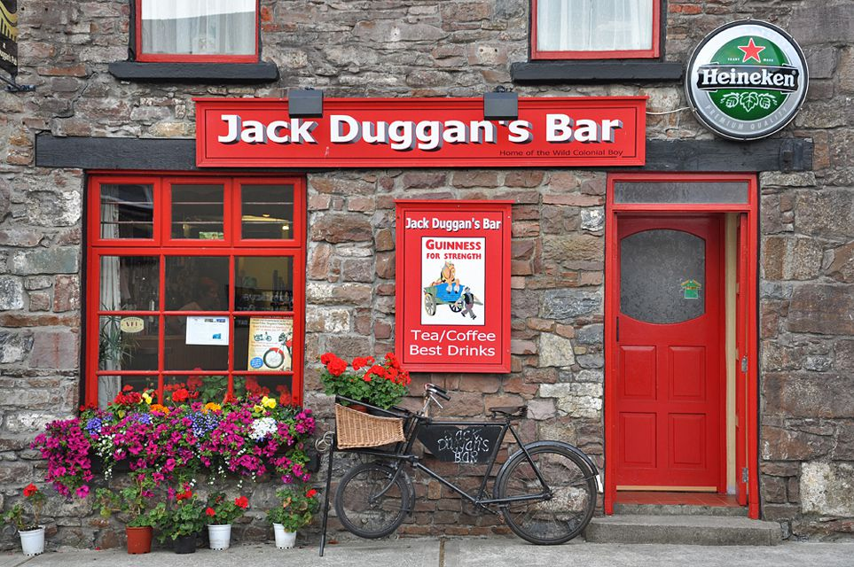Jakc Duggan's Bar, Castlemaine, Co Kerry, Ireland