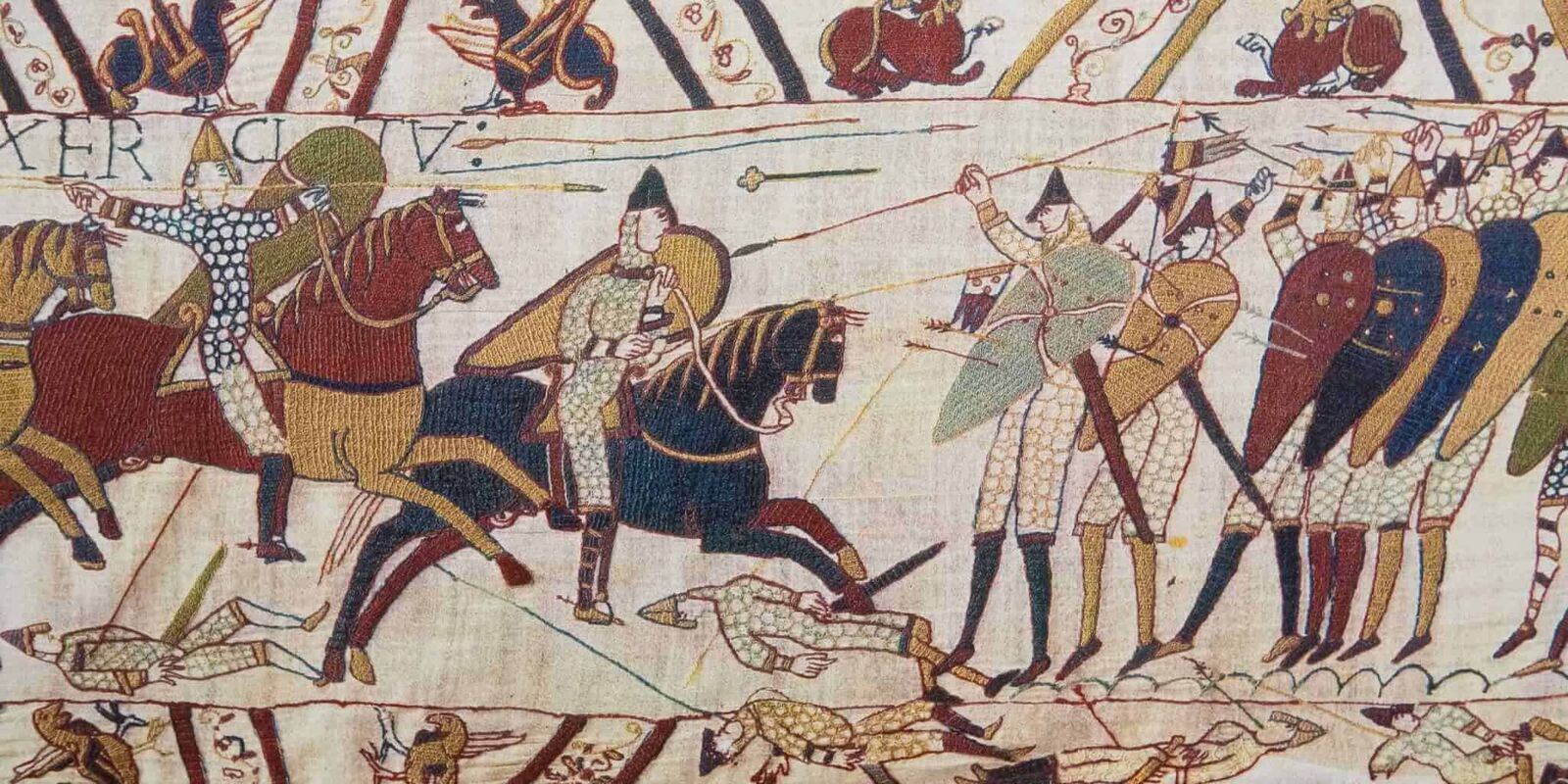 A rough day at the office in the Year 1066