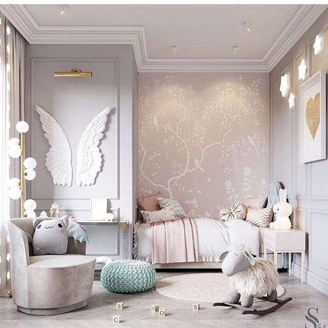 Faith, trust, & pixie dust. Add some joy to your little one's daily life with this lovely, unique, and whimsical bedroom design. | via @livingedgeinteriors * * * #upscaleinteriors #upscaleinteriorsAG #designthelifeyoulove #dekor #innenarchitektur #germaninteriorbloggers #zuhause #dekoration #inneneinrichtung #architekturbüro #interiør #interiör #interiordesigner #interiorstyle #interiorinspo #interiorandhome #interior4all #homestyling #interiorforinspo #passion4interior #interiorlove #interior123 #interiorlovers #interiorforyou #interiorideas #instahome #interiordesignideas #passionforinterior #dreaminterior #interiorgoals