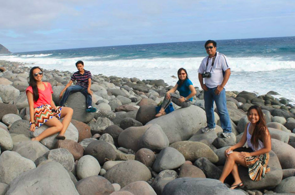 My family in Batanes (2014)