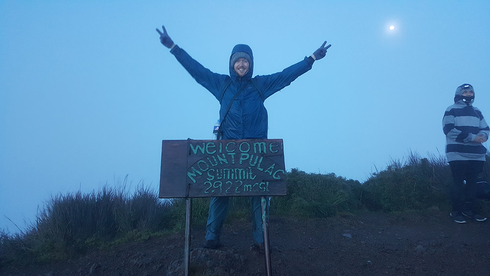 Christian in Mt. Pulag. Read his blog  here .