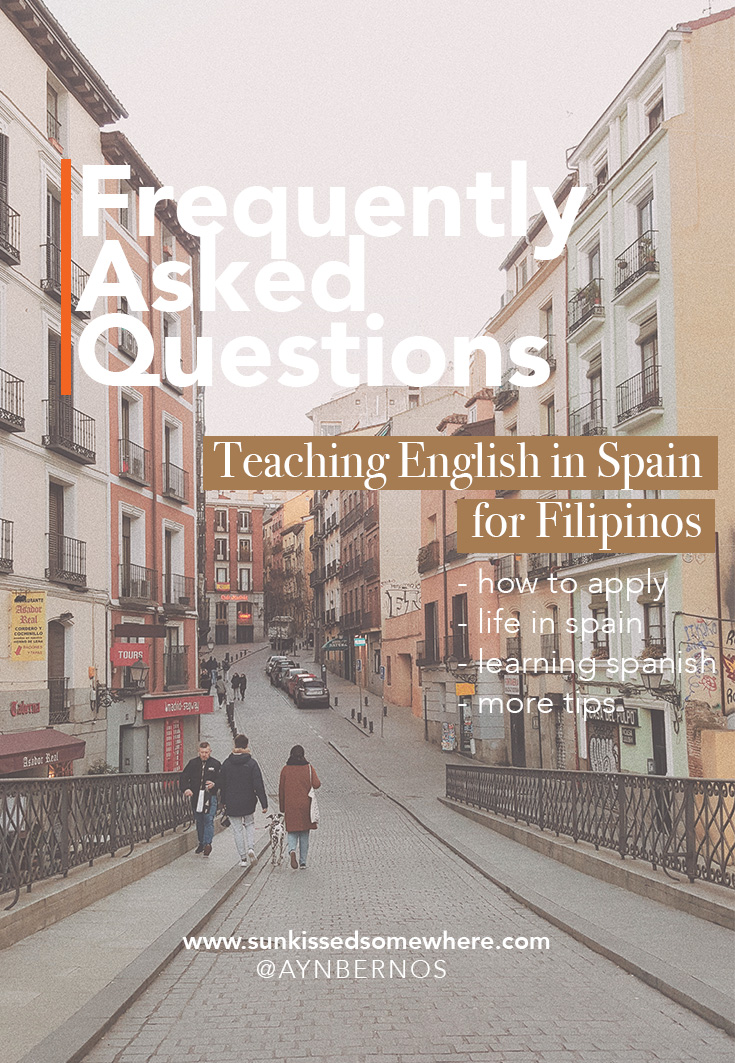 teaching english in spain for filipinos