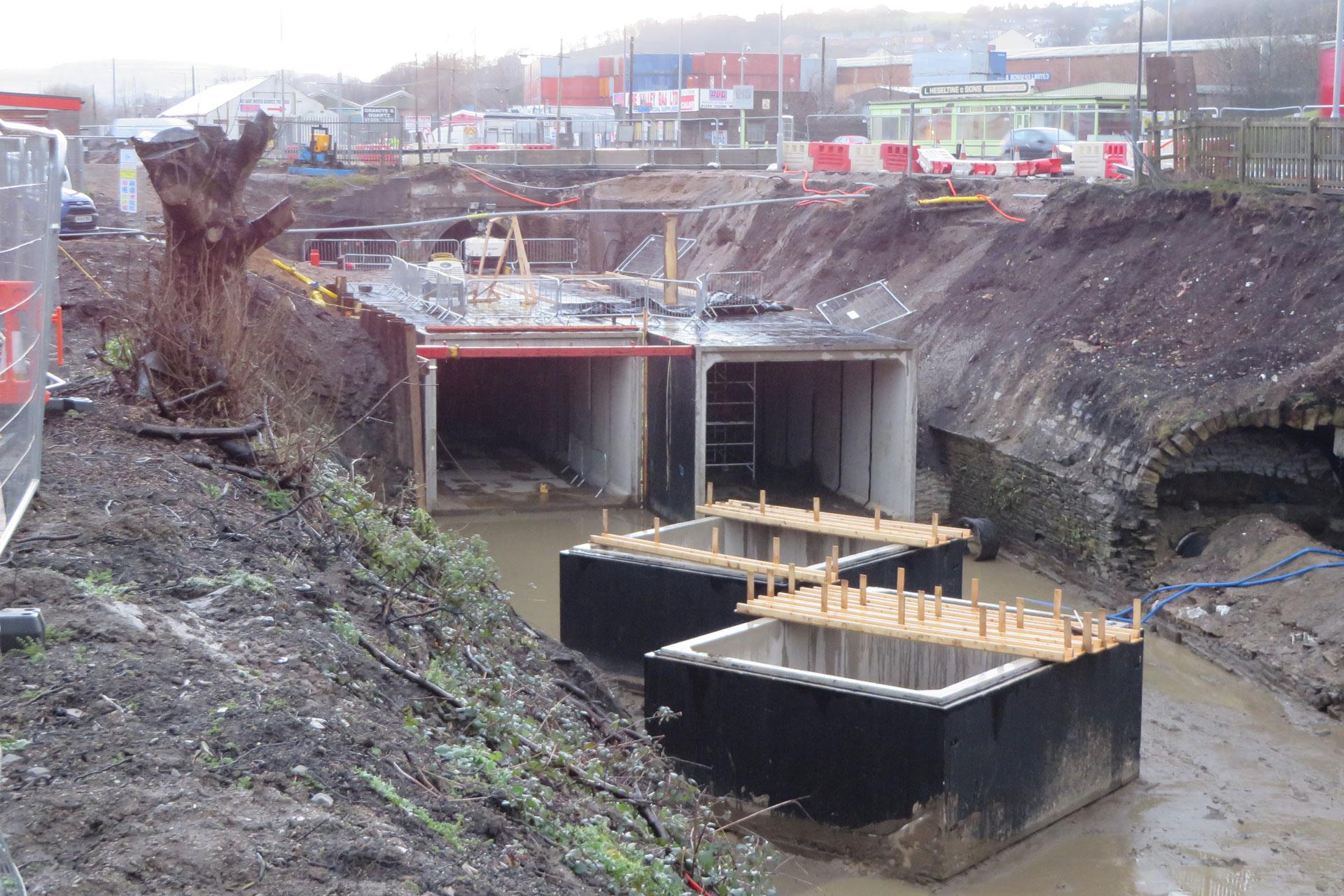 Twin Culvert Construction, Bradford City Council.jpg