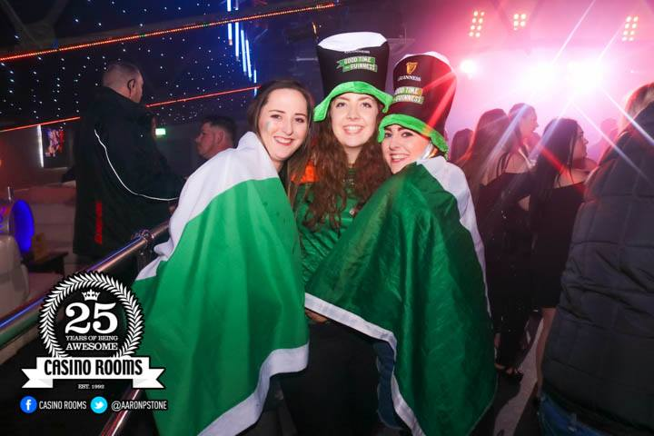 CASINO SAT 17th MARCH 2018 - BIGGEST EVER ST PATRICK'S DAY BASH