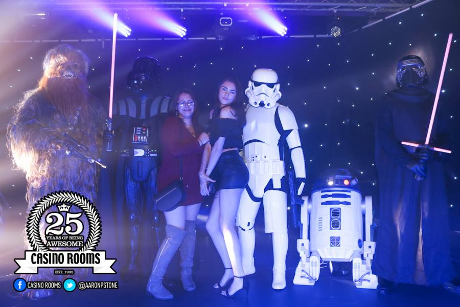CASINO FRI 4th MAY 2018 - STAR WARS DAY PARTY - MAY THE FOURTH BE WITH YOU!