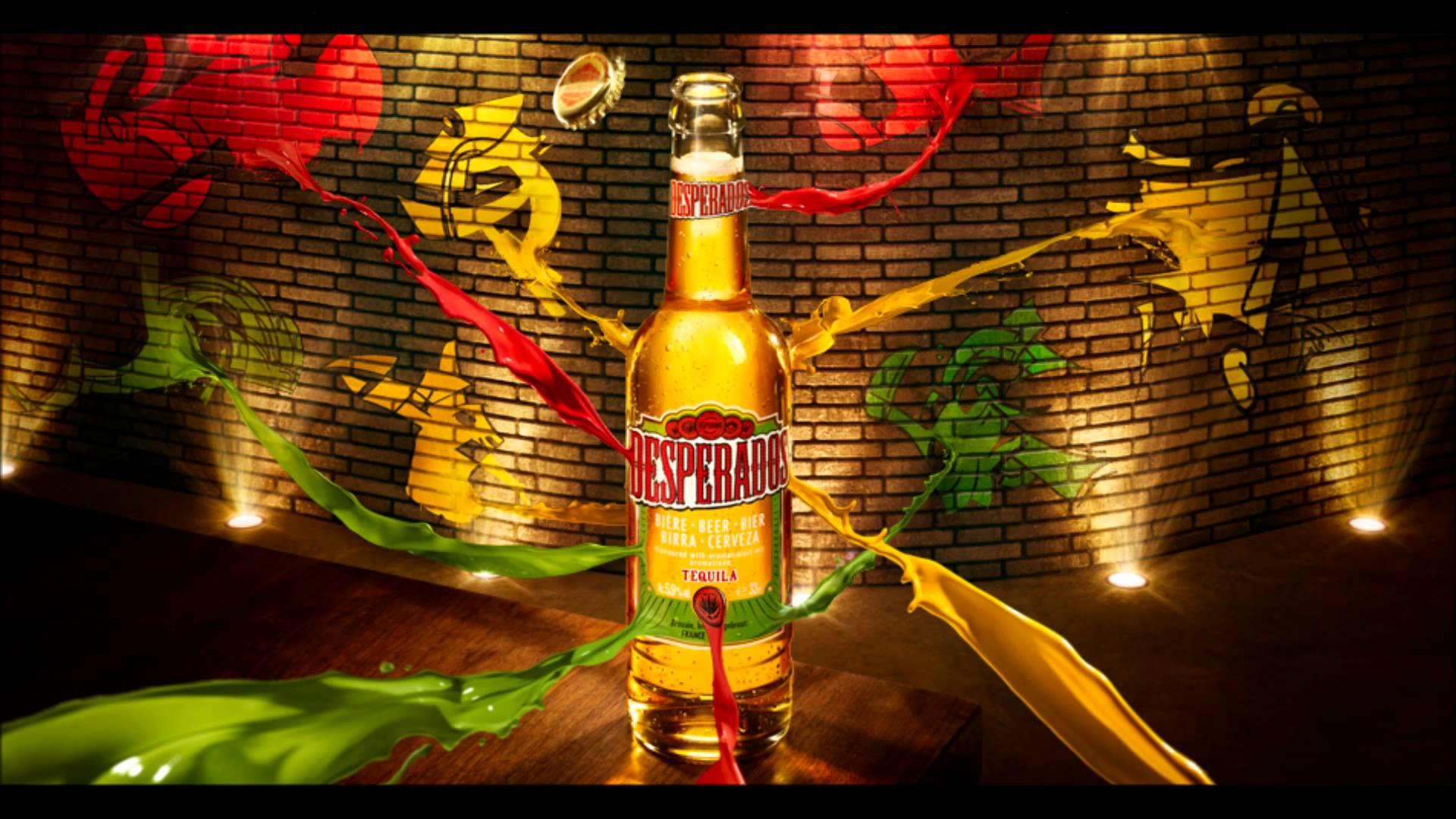 Casino Rooms'Official Bottled Beer Partner.Click the bottle to visit theDesperados Website! -