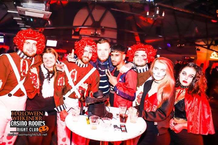 CASINO SAT 27th OCTOBER 2018 CLUBLAND'S No1 HALLOWEEN EXPERIENCE