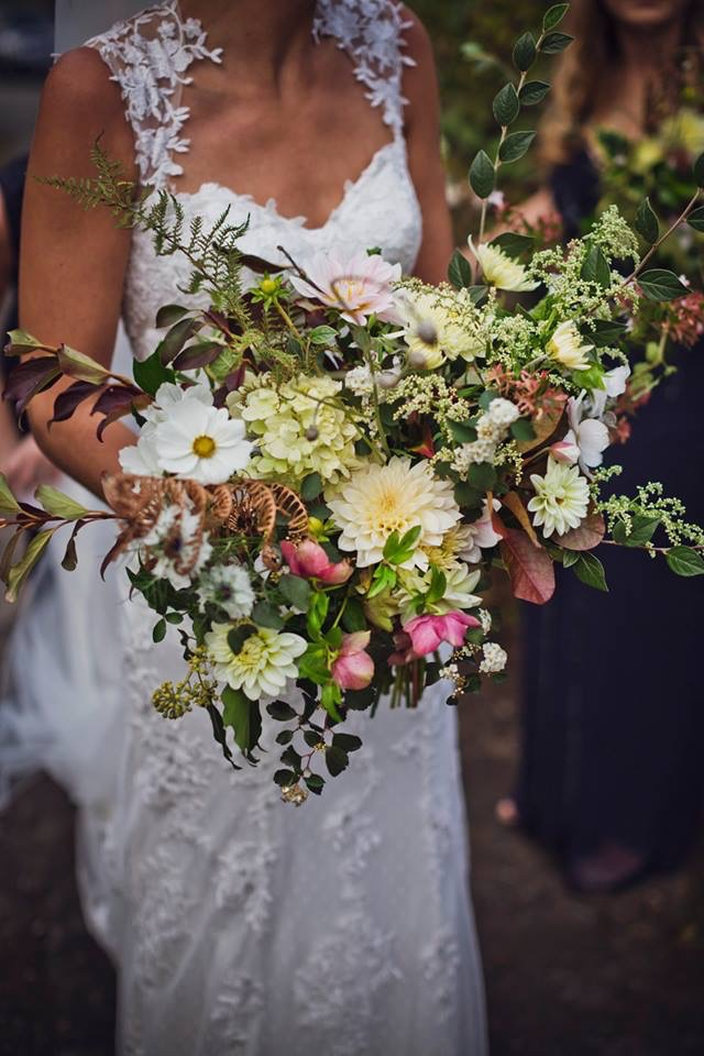 Wild flower bouquets for Weddings