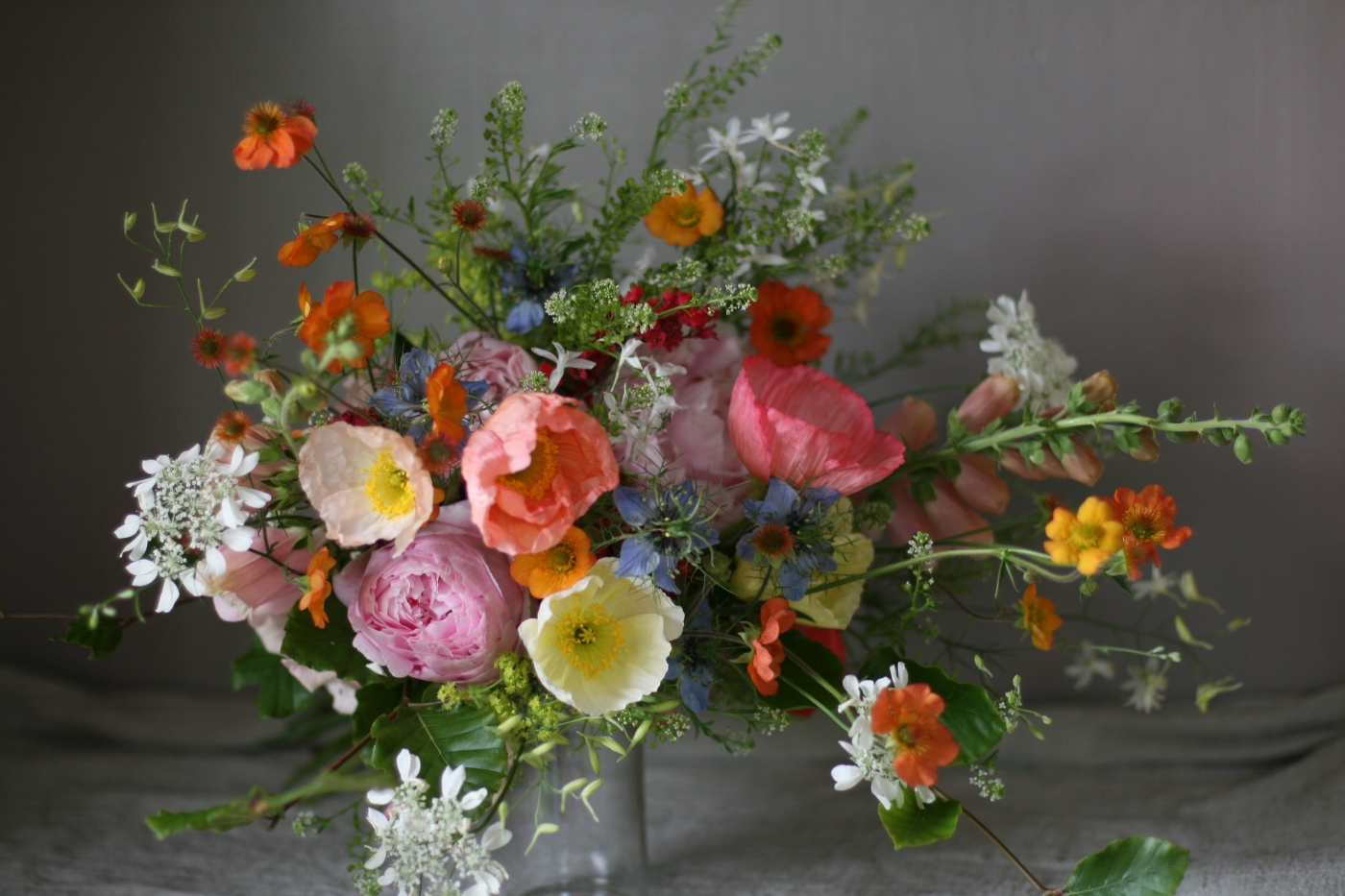 natural homegrown flowers for Weddings in Cheshire, Manchester and Liverpool