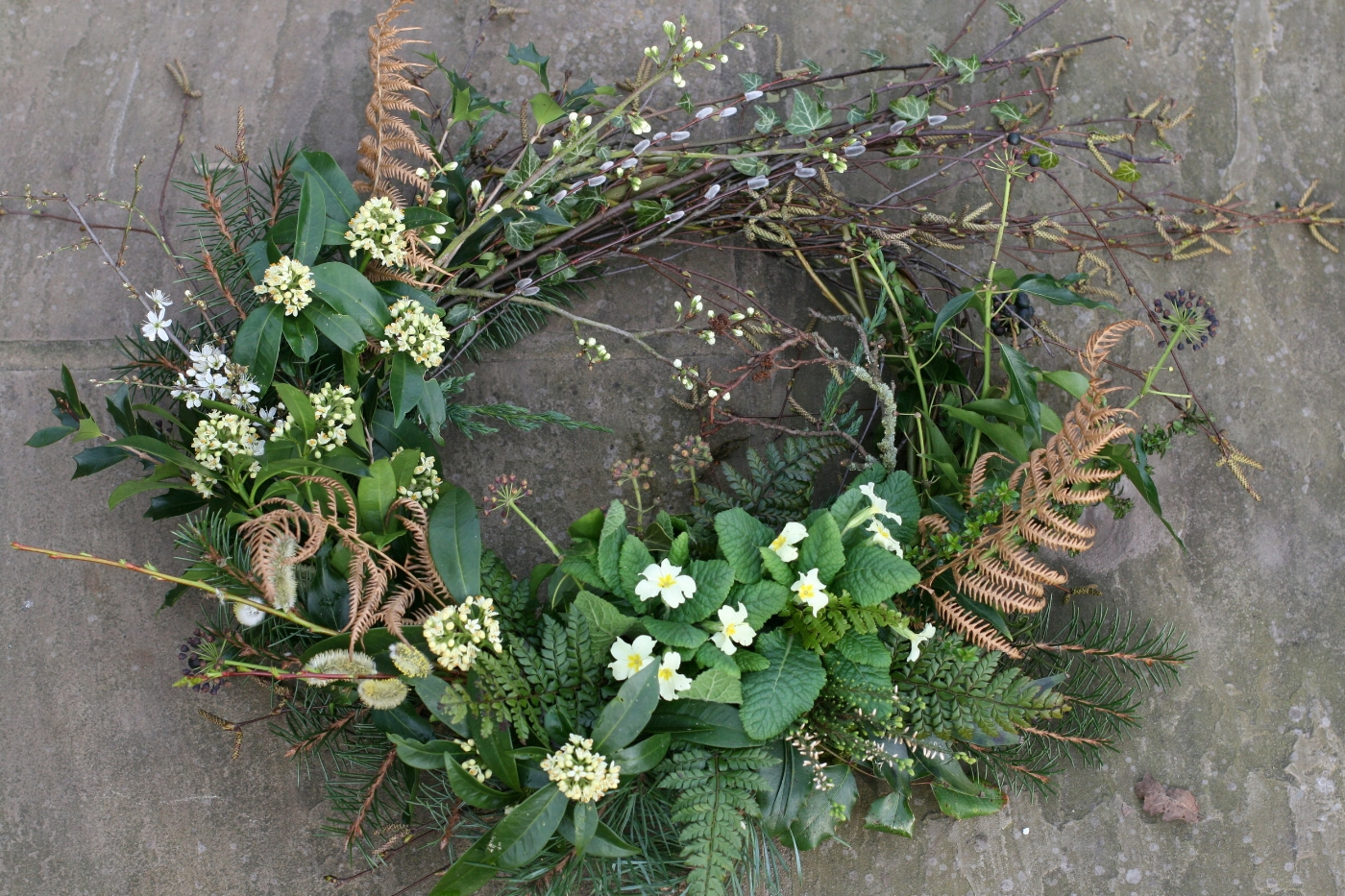 Natural funeral flowers in Cheshire