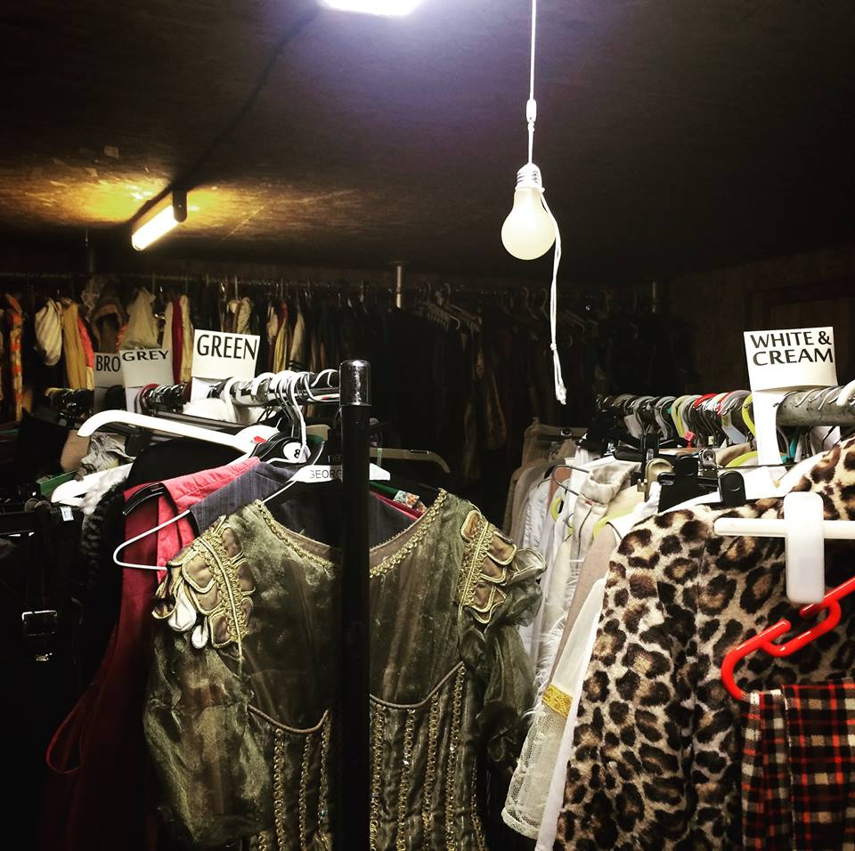 Sourcing costumes in the Forest of Dean