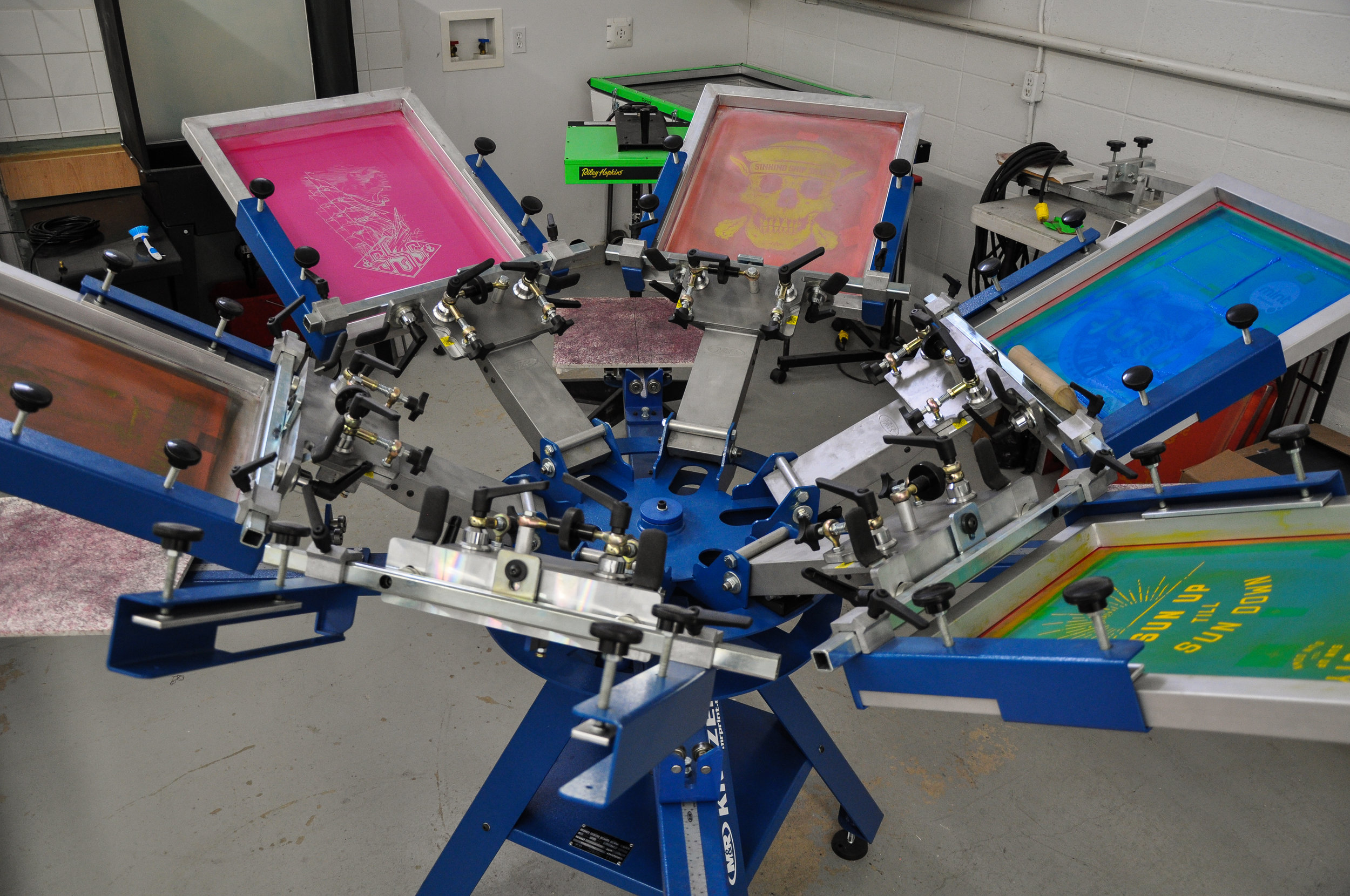 Screen Printing Press | Lethbridge, AB