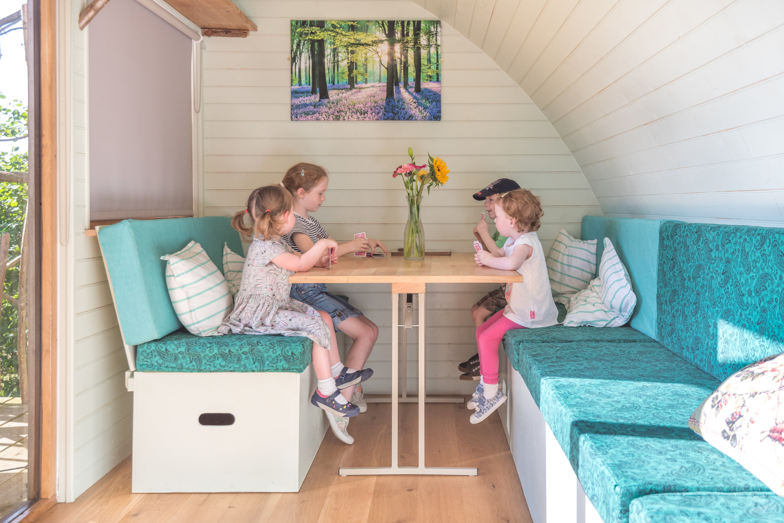 Glamping Pods <br />& Cabins<strong>Fully insulated pods and cabins for all season use.</strong>