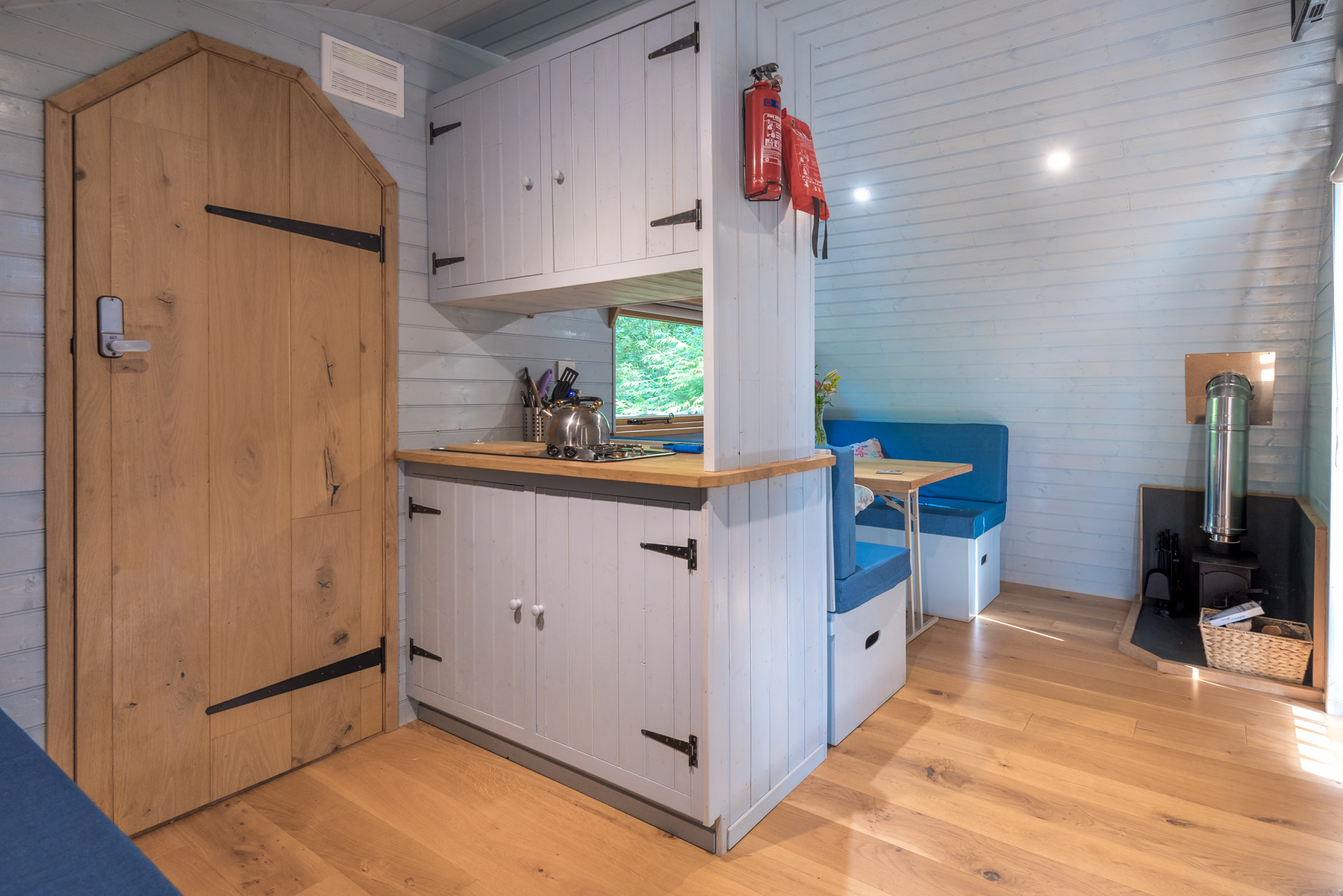 glamping pods with kitchen
