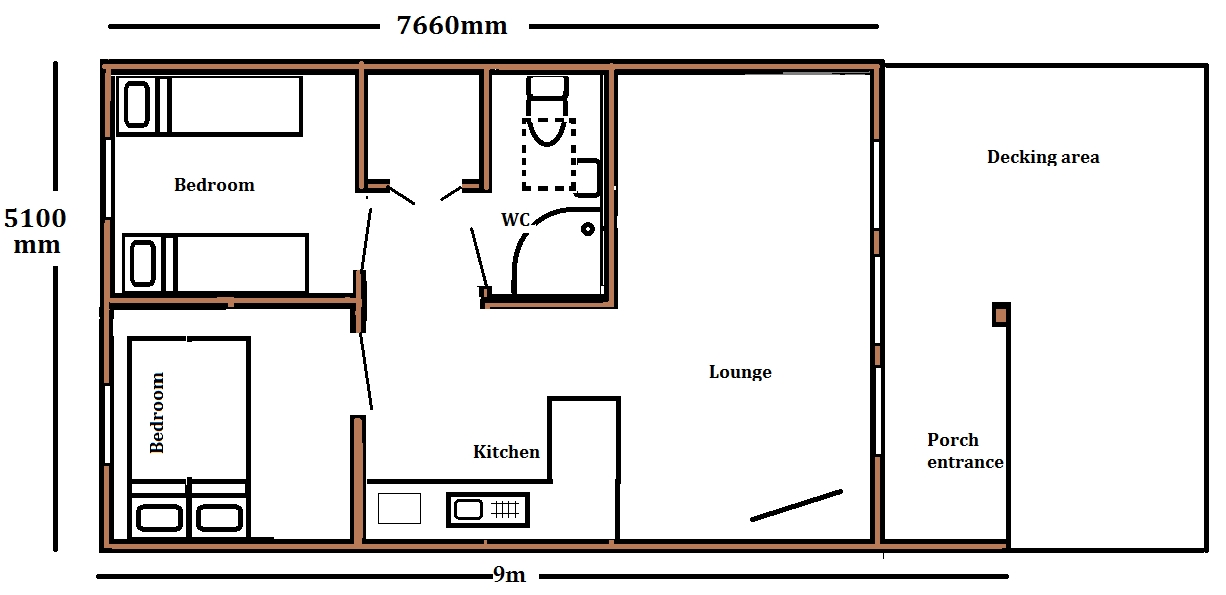log cabin for sale uk for glamping holidays